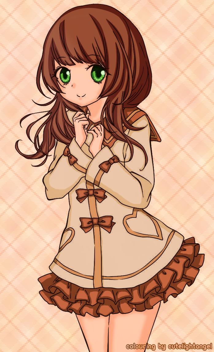 Cute Anime Girl by cutelightangel