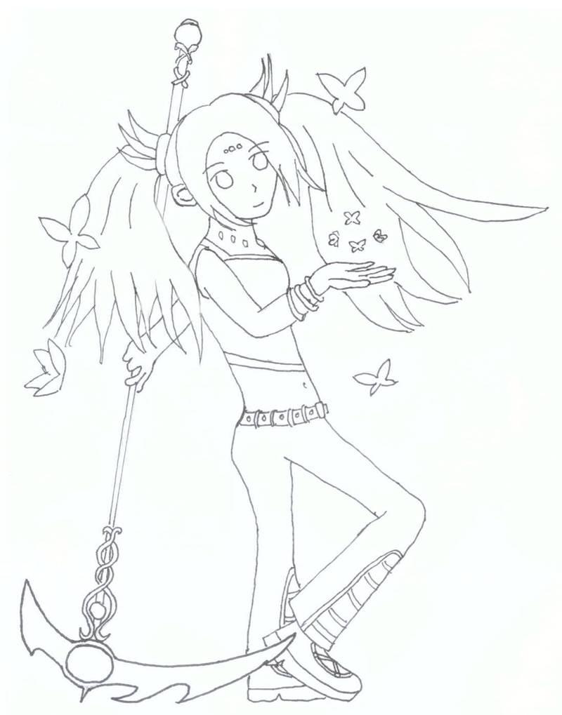 [Request]  OC Phantasya by cutelightangel