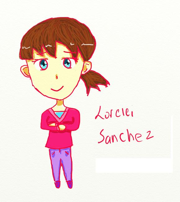 [Request] Lorelei Sanchez Chibi by cutelightangel