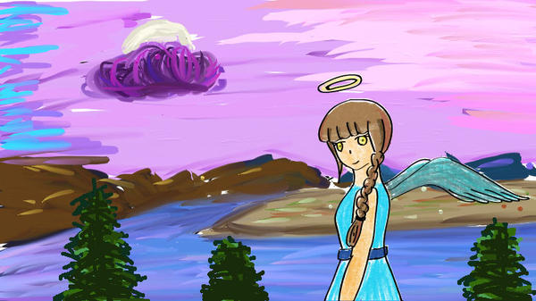Angel by cutelightangel