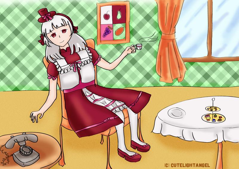 Tea Time by cutelightangel