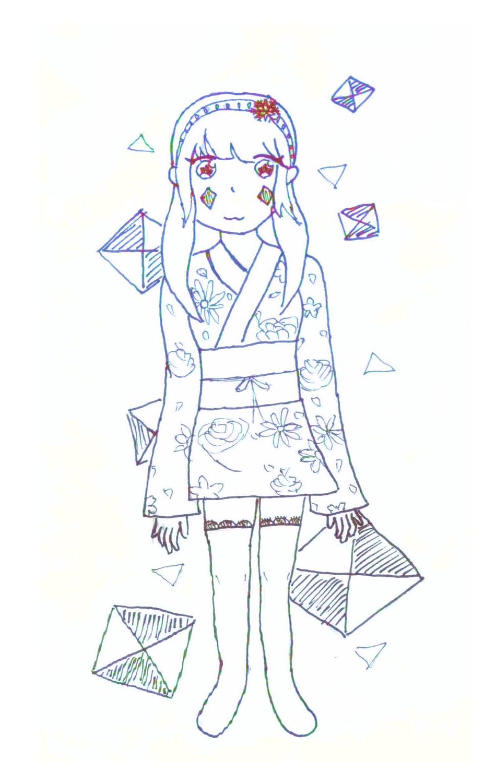 Snow girl by cutelightangel