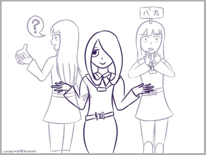[Fanart] Little Witch Academia by cutelightangel