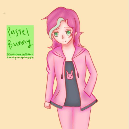 [Request] Pastel Bunny by cutelightangel