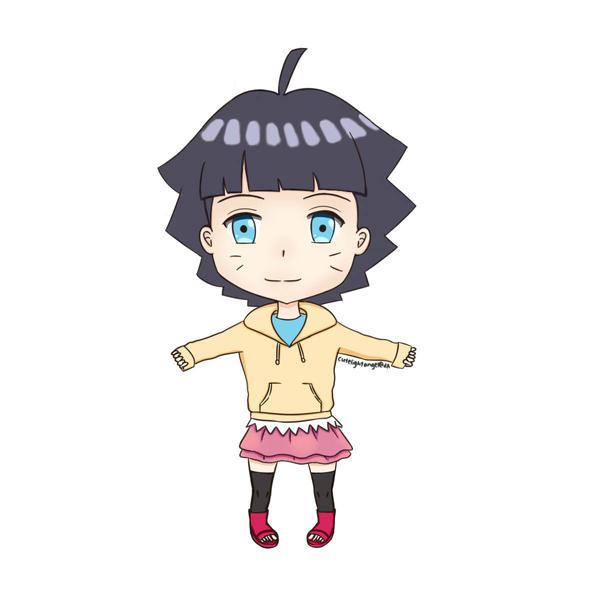 [Fanart] Himawari Chibi by cutelightangel