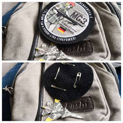 How to attach your Morale Patches
