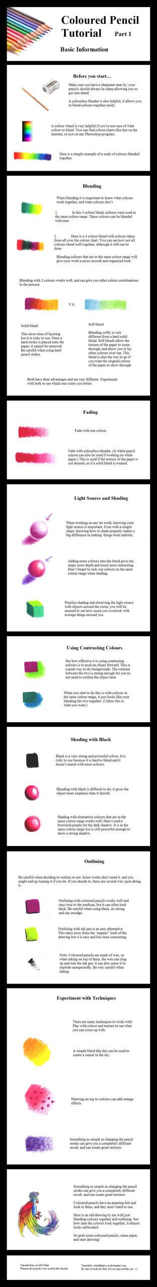 Coloured Pencil Tutorial Prt 1