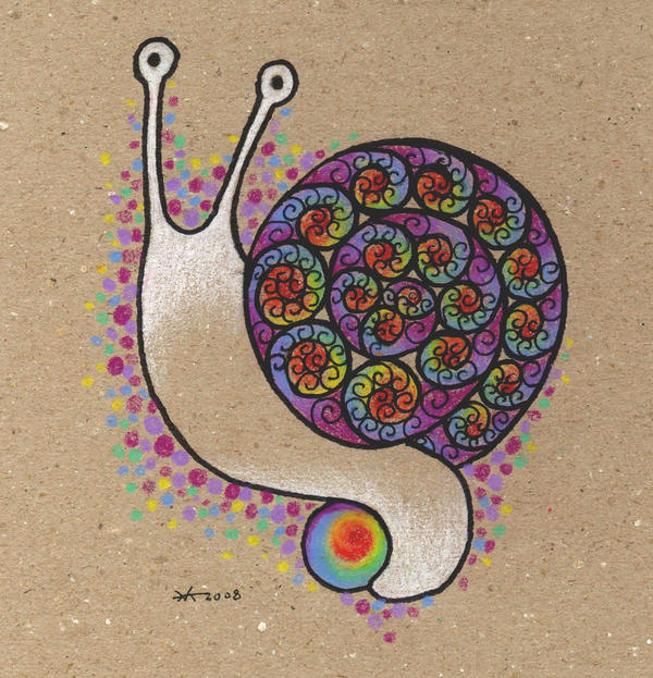 The Fractal Snail by rehabilitative