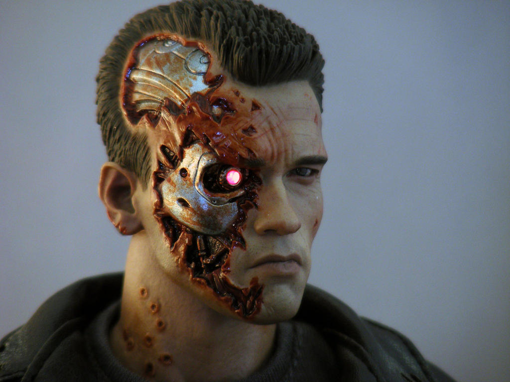 Hot Toys Terminator 2 T-800 by maulsballs
