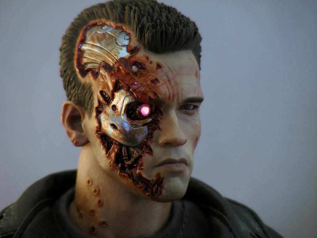 Hot Toys Termina...T 800 Terminator 1
