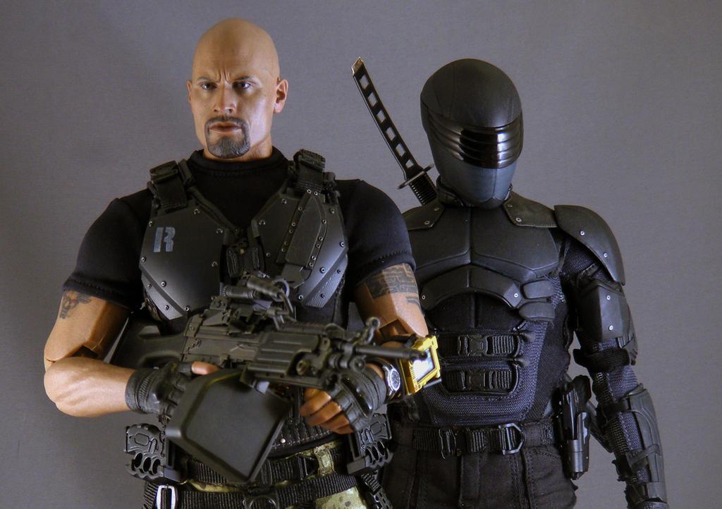 Hot Toys G.I.Joe: Retaliation Roadblock Snake Eyes by ...