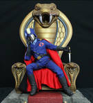 Cobra Commander contemplating world domination