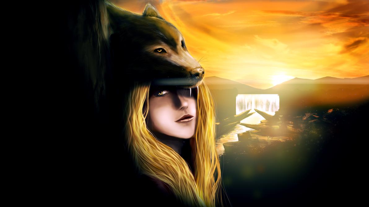 The Blonde Girl by HydenPicaz