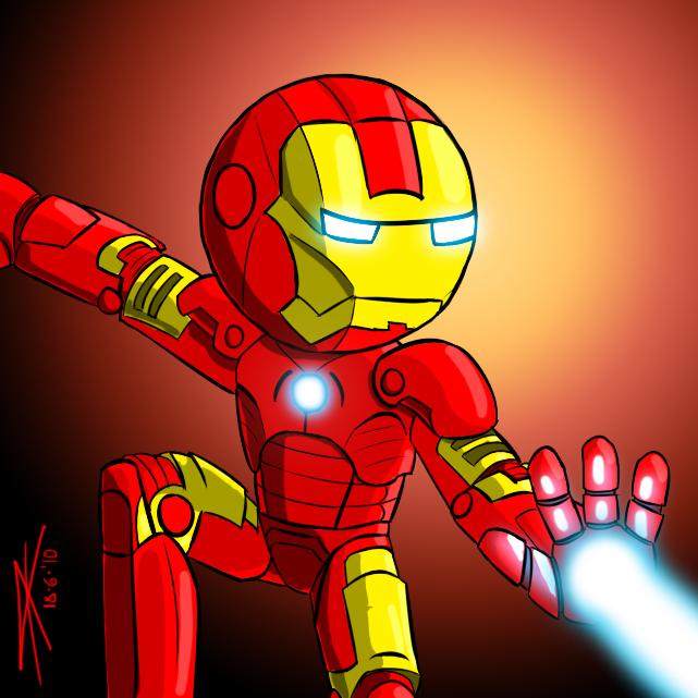 Ironman toon by DracRoig