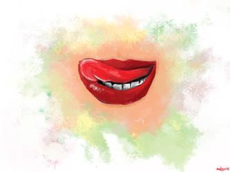 Lips by DracRoig
