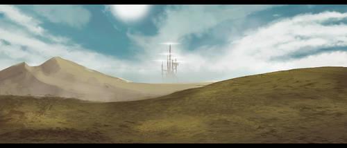 Far city by DracRoig