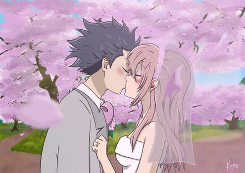 Shouko and Shouya from A Silent Voice