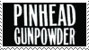 Pinhead Gunpowder Stamp by 666qqq666