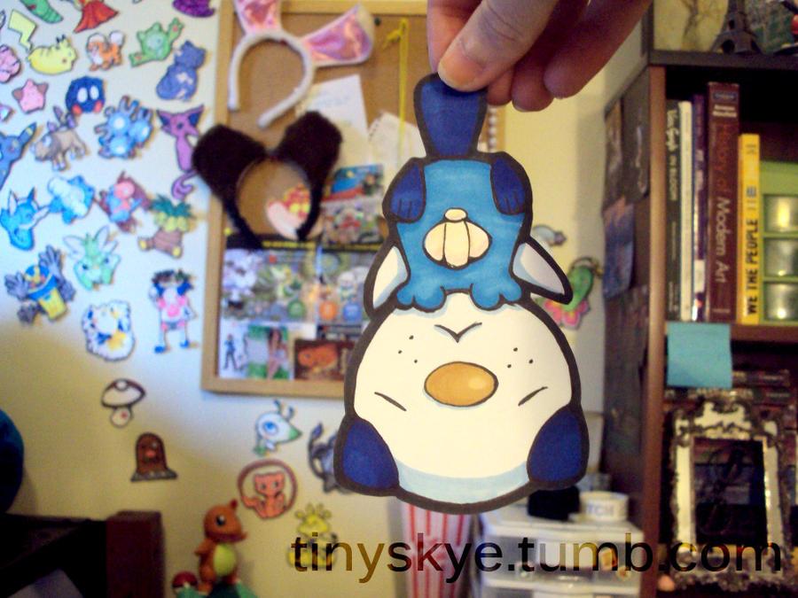 Oshawott by TinySkye