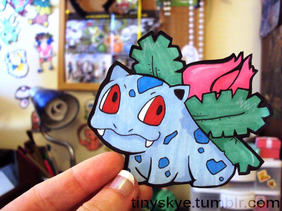 Ivysaur by TinySkye