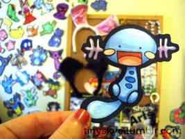 Wooper by TinySkye