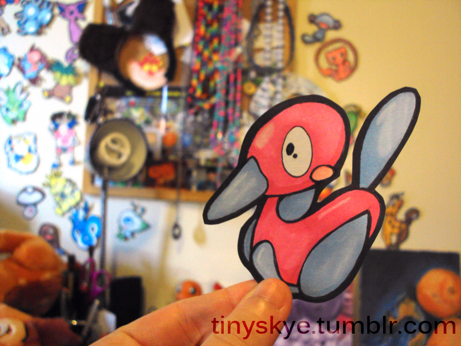 Porygon2 by TinySkye