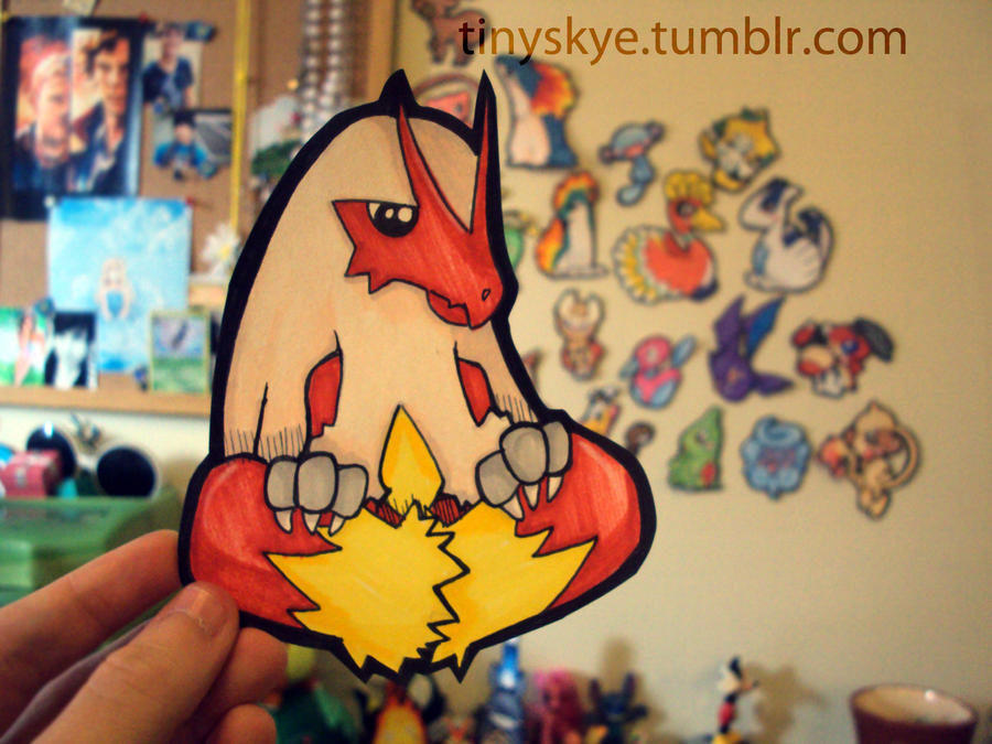 Blaziken by TinySkye