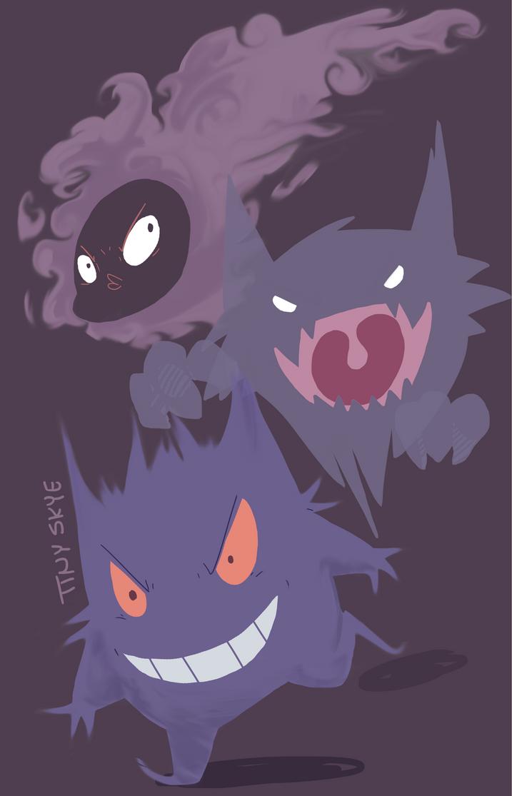 3 Ghosts by TinySkye