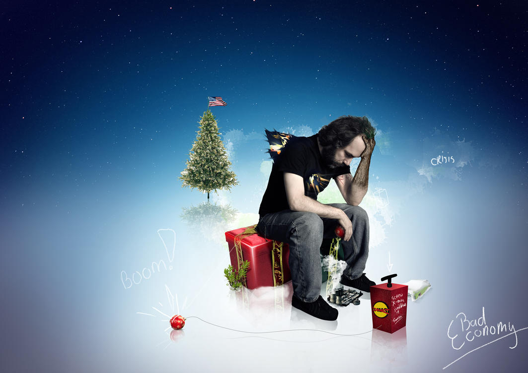 "Just blow it... ""Santa"" by JaxeNL"