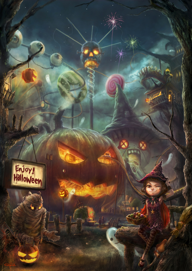 Enjoy Halloween by expix