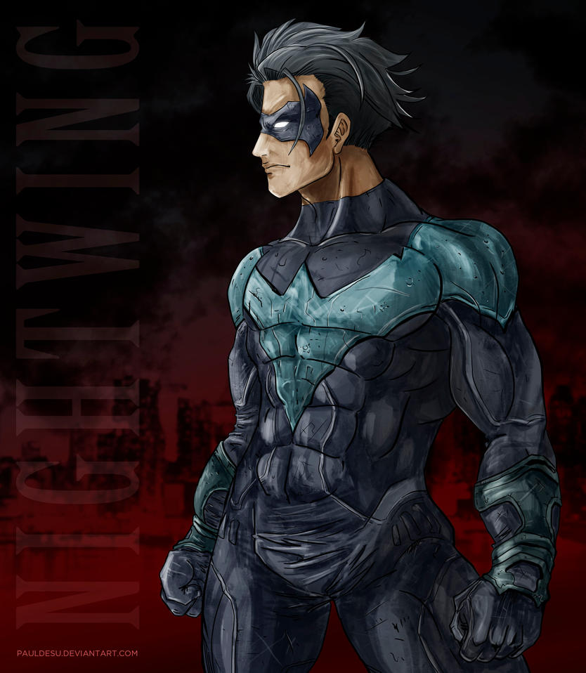 NIGHTWING Fanart by pauldesu