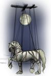 The Moon and her Marionette