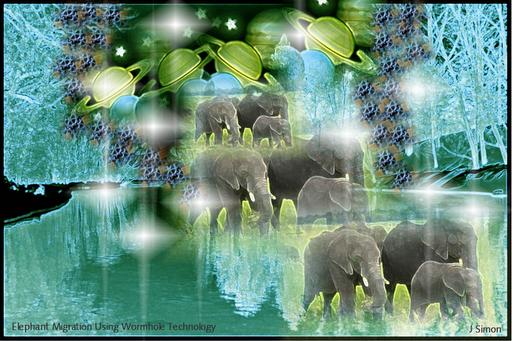 Elephant Migration 3 by digi-rabbit