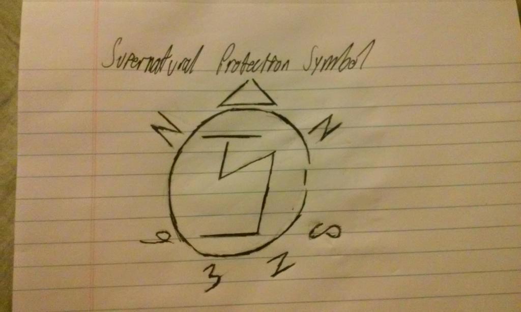 Supernatural Protection Symbol By 20334survivor On Deviantart