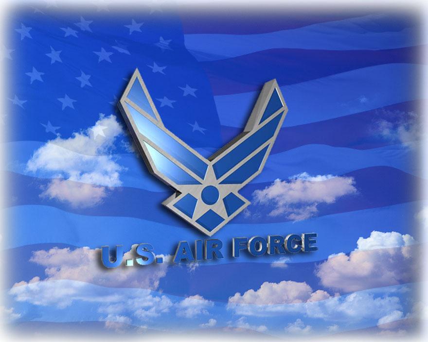 Us Air Force Logo Wallpaper Air force desktop by chrippy