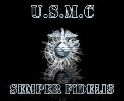 USMC Wallpaper by Chrippy