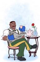 Dudley's Classy Tea Break by randomartist