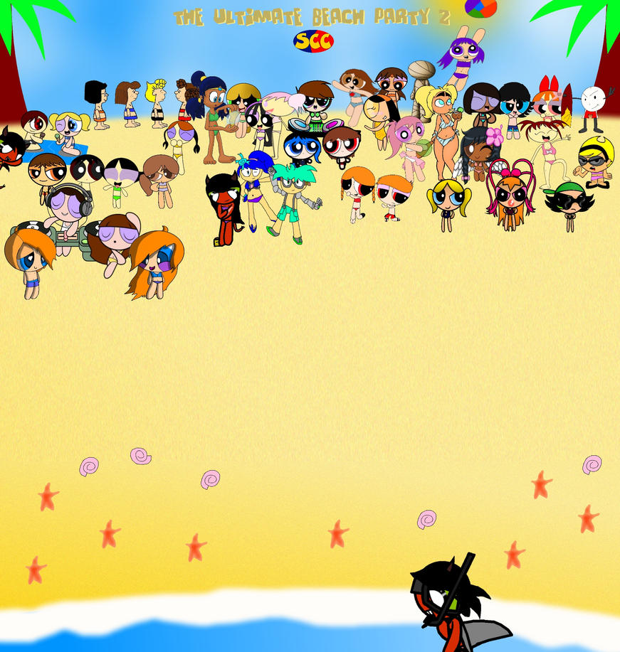 The Ultimate Beach Party II by smithandcompanytoons