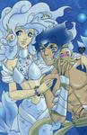 Artbook SERES: Sirena y Triton by Sagita-D
