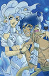 Artbook SERES: Sirena y Triton