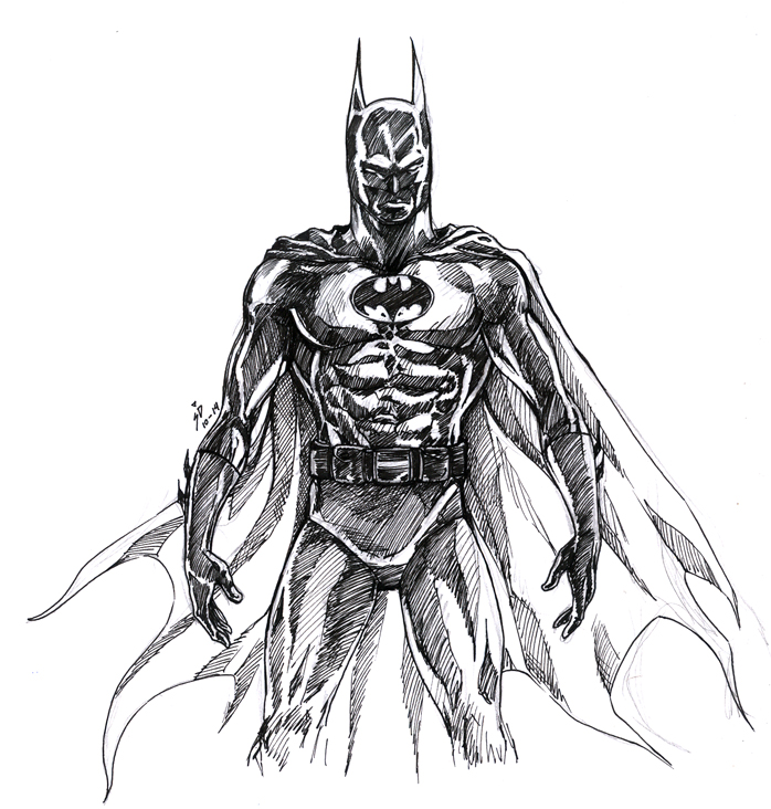 Batman ink by Sagita-D