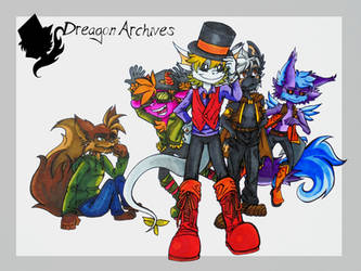 The Dreagon Archives by HarleyTurbo