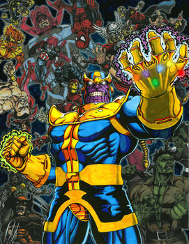 Thanos Triumphant - The Infinity Gauntlet