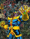 Thanos Triumphant - The Infinity Gauntlet