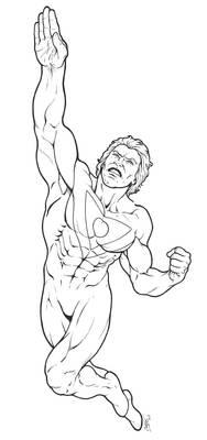 Apollo of The Authority - Inked