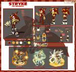 Stryke the Hedgehog Reference Sheet