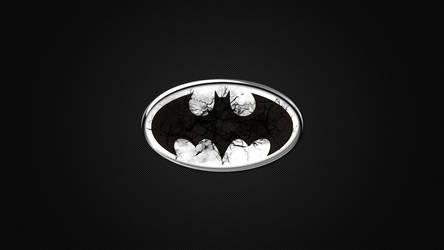 Batman metallic logo