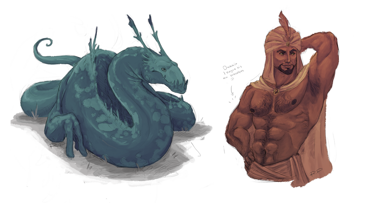 Sketch requests by Jakiron