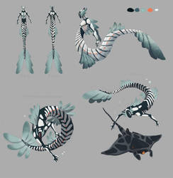 Mechanical Merman concept