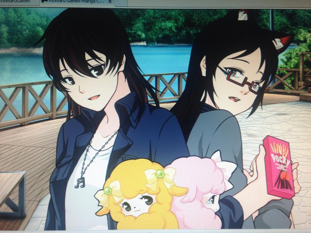 A good friend. by AnimeGamerKitten